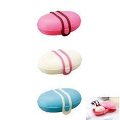 New Portable Leakproof Soap Case Travel Soap Holder Soap Dish Bathroom Accessory picclick.com