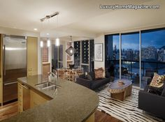 LHM Hawaii - Condo in the Heart of Honolulu #LuxuryHomes #Condos #Penthouse #InteriorDesign #Decor