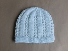 This is a very sweet little baby hat