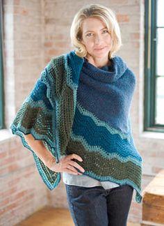 shoal pattern shawl.  variation of traditional shetland hap shawl.  berroco ultra alpaca fine