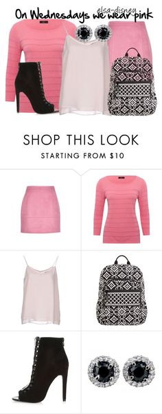 """""""Mean girls - Wednesdays"""" by elsa-disney ❤ liked on Polyvore featuring M&Co, SELECTED, Vera Bradley and River Island"""