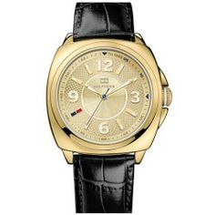 Cheap Tommy Hilfiger Cushion Case Watch 38mm price - An intricately etched round dial polished cushion case and croc-embossed leather strap make an elegant watch with a commanding profile.An intricately etched round dial polished cushion case and croc-embossed leather strap make an elegant watch with a commanding profile. Color (s) :...
