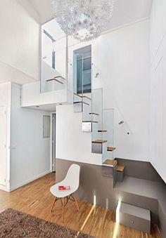 En ellipse, en acier, en spirale, modèle gain de place... Les escaliers peuvent prendre de nombreuses formes. Découvrez de beaux exemples d'architecture pour vous inspirer.