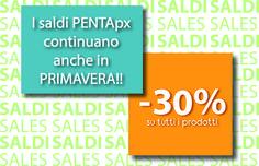 Con #PENTApx continuano i saldi anche in primavera!! Approfittane subito!! -30% su tutti i prodotti: biglietti da visita, cataloghi, loghi, siti internet, e-commerce e molto altro! -->http://www.pentapx.eu/pacchetti-promozionali/ #PACCHETTIPROMOZIONALI #SALDI