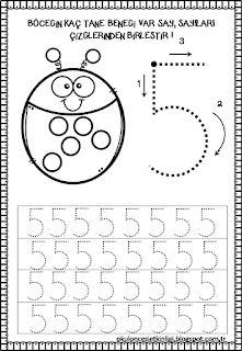 Didem Ögretmenin Etkinlikleri: SAYI ÇALIŞMALARI 2 Preschool Activity Sheets, Preschool Writing, Numbers Preschool, Kindergarten Math Worksheets, Preschool Printables, Preschool Lessons, Learning Games For Kids, Learning To Write, Math For Kids