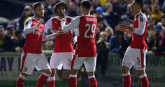 Match report – Player ratings – Video Arsenal experienced glorious victory once again as the mighty Sutton United were put to the sword by the brave, lionhearted underdogs in red and white. Goals from Lucas Perez and Theodore P Walcott were enough to put us through to the quarter-finals where our plucky chaps will have …