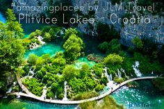 Croatia offers some simply stunning natural parks. Plitvice Lakes is no exception!
