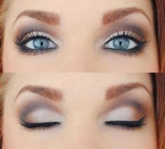 i have blue eyes...how come my makeup doesn't look like that??