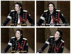 Omg ^o^ I LoVe YoU more Michael