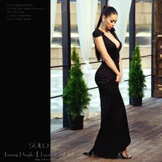 russian models: Helga Lovekaty( looks like Mia Khalifa's sister) Girl Next Door Look, Deep V Dress, Lucky Girl, Sexy Girl, Russian Models, True Beauty, Men Dress, Formal Dresses, Womens Fashion