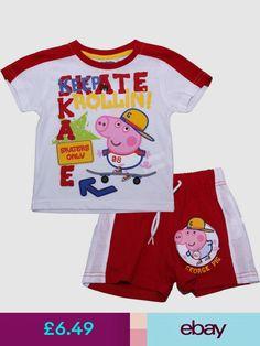 Peppa Pig Pajamas & Nightgowns #ebay #Clothes, Shoes & Accessories Peppa Pig Family, Nightgowns, Pajama Set, Skate, Sleep, Kids, Inspiration, Ebay, Accessories