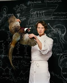 """""""Grant Achatz (born is an American chef and restaurateur often identified as one of the leaders in molecular gastronomy or progressive cuisine."""" - Grant Achatz by Martin Schoeller for TIME FLIP? Martin Schoeller, Chefs, Celebrity Gallery, Celebrity Photos, Portrait Photography, Food Photography, Portrait Poses, Fashion Photography, Grand Chef"""