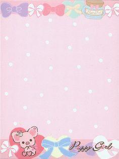 Piggy Girl pig mini Memo Pad with perfume by San-X 4