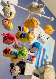 Custom Disney Tsum Tsum Mobile for Nursery
