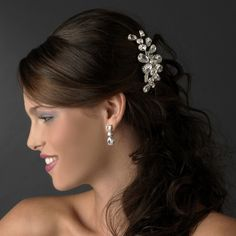 Fashionably Yours - Glamorous Silver Clear Rhinestone Hair Comb, $76.99 (http://www.fashionably-yours.com.au/glamorous-silver-clear-rhinestone-hair-comb/)