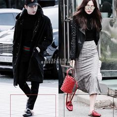 Slippers Couple ver. Black/Red ❤️