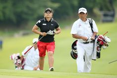 試合に出る喜びを噛み締め馬場ゆかりが単独2位浮上 LPGA 日本女子プロゴルフ協会
