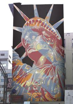Street Art New York Graffiti Murals 17 Ideas Street Wall Art, Street Art News, Urban Street Art, Best Street Art, Murals Street Art, Amazing Street Art, Street Art Graffiti, Street Artists, Urban Art