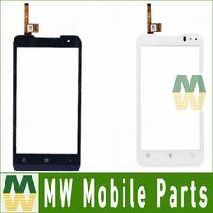 1 teil/los für lenovo p770 hohe qualität digitizer touchscreen touch glas schwarz weiß