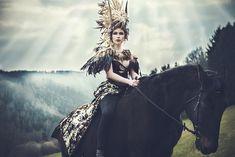 Sonja Saur Photography - Anjacarinamodel - mua Rachelsigmoncosmetologist - headpiece Posh Fairytale Couture