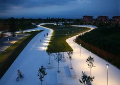 Cino Zucchi Architetti - Neighborhood park with Gueltrini Stignani Associati Italy, S. Donà di Piave (Venice) – 2004
