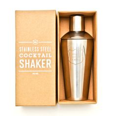 Shake Rattle and Roll Cocktail Shaker
