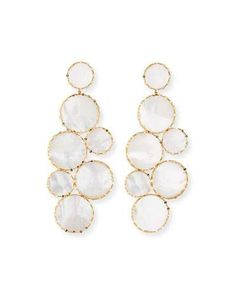 Y3UPE Lana Mega Ibiza Mother-of-Pearl Earrings