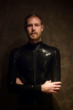 Latex Catsuit Coolness