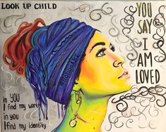 """""""You Say I Am Loved"""" Prints available of my original painting! Lauren Daigle, Colorful Wall Art, Wall Colors, The Dreamers, Original Paintings, Poster Prints, Concert, Handmade Gifts, Artist"""