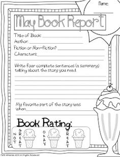 1st Grade Fantabulous: Craft Room and May Book Reports