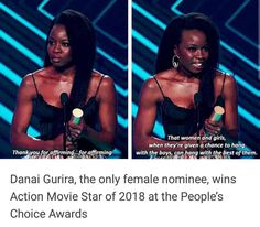 Well deserved 👏🏽👏🏽👏🏽<<Yes We Are The World, In This World, Faith In Humanity Restored, Intersectional Feminism, Badass Women, Equal Rights, Before Us, Social Issues, Good People