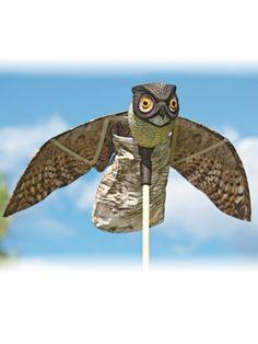 Prowler Owl - Garden Scarecrows - natural pest control   Solutions