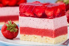Sweets Cake, Homemade Cakes, Baking Tips, No Bake Desserts, Biscotti, Vanilla Cake, Sweet Tooth, Cheesecake, Food And Drink
