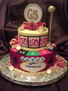 tea party casino cake - Google Search