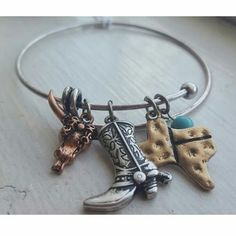 TX Charm Bangle · Joonam Boutique · Online Store Powered by Storenvy
