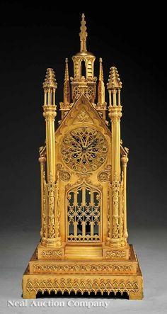 Antique English Mantel Clock