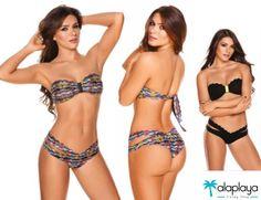 Bikini doble faz!  Entra a  www.alaplaya.co y conoce todos los diseños de almamia.