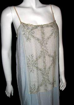1920s silk slip