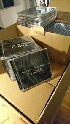 Cd's arrived! ChaosResearch
