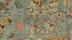 It took 12 years for Olaus Magnus to draw the Carta Marina. The famous first map of the Nordic countries with details and placenames was first copied in 1539 in Venice, printed from nine woodcut blocks to produce a document 1.70 m tall by 1.25 m wide. To really appreciate this map, download the file and check out the detail. There is indeed a warning about dragons toward its edges.