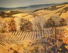 Autumn Vineyard Giclee Print Poster by Silvia Rutledge Online On Sale at Wall Art Store – Posters-Print.com
