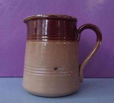 Antique Green or Doulton Stoneware Stone Ware Miniature Cream Jug Perfect in Pottery, Porcelain & Glass, Stoneware, Doulton Lambeth | eBay