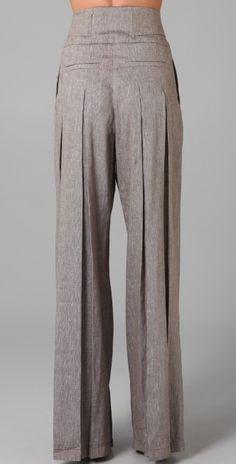 L.A.M.B. Cross Dye Wide Leg Pants | SHOPBOP