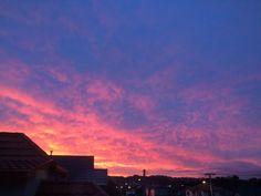 pin ↠ @gvldenvibes ✧ Sunset Sky, Sunrise, Pink Sky, Purple, What's My Favorite Color, Cotton Candy Sky, Pretty Sky, Sky Landscape, Sky View