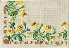 Mini Cross Stitch, Cross Stitch Borders, Cross Stitch Charts, Cross Stitch Designs, Cross Stitch Patterns, Folk Embroidery, Embroidery Patterns Free, Cross Stitch Embroidery, Vintage Borders