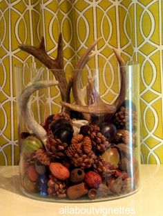 All About Vignettes: A Little Touch of Fall