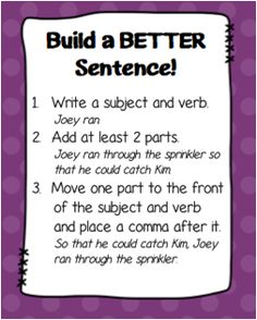 Today's Topic: Writer's Workshop Minilesson So, what I have for you today is actually a few little minilessons to get your students on track to write better sentences! I'm making it a freebie for now, so grab it here! Build a Better Sentence! I'm going to let you take a look at the cards and …