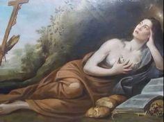 Santa Maria Egiziaca (Alessandria d'Egitto, 344 circa – 2 aprile 421?)  considerata la protettrice delle donne penitenti. fu una monaca ed eremita egiziana che è oggi venerata come santa Nell'iconografia è raffigurata come penitente presso una grotta con i capelli lunghi che le coprono il corpo, con i tre pani che si portò nel descattolica Molti dei motivi della vita di Maria Egiziaca sono stati trasferiti a leggende medievali a Maria Maddalena