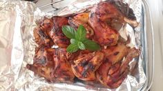 Roasted chicken kabsa