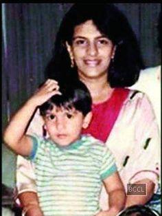 Ranveer Singh & his mum - The Times of India